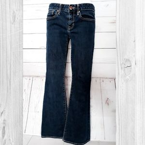 Gap 1969 Medium Wash Curvy Boot Cut Jeans 28/6a
